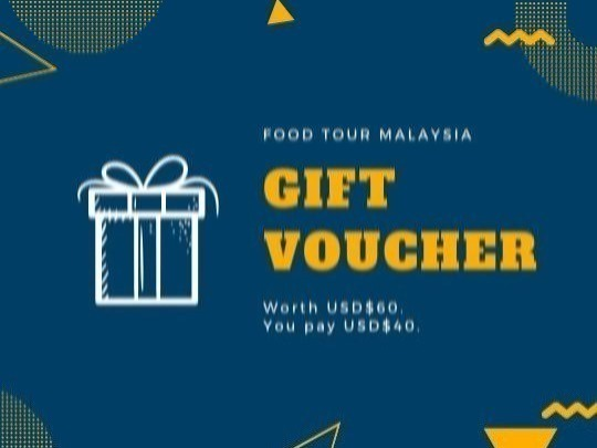 Purchase a gift voucher worth USD$60 for only USD$40.